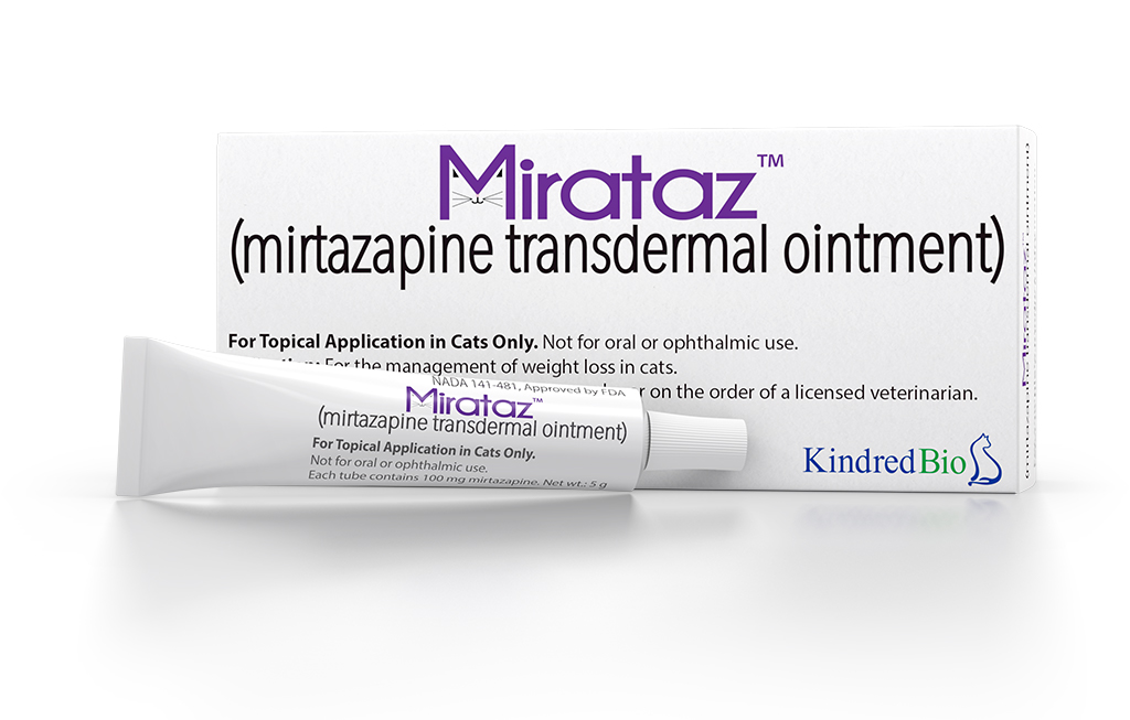 Mirataz product and box.